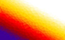 多角形梯度传染媒介五颜六色的背景 免版税图库摄影