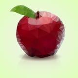 多角形苹果 皇族释放例证
