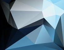 多角形马赛克背景 免版税库存图片