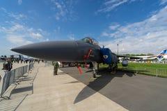 多角色战斗机,罢工战斗机麦克当诺道格拉斯公司F-15E罢工老鹰 库存图片