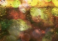 多雨光 免版税库存图片