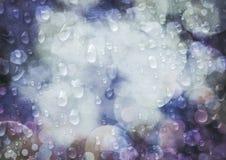 多雨光 免版税库存照片