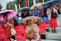多雨夏日 免版税图库摄影