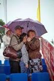 多雨夏日 库存图片