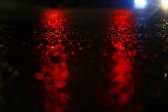 多雨夜 图库摄影
