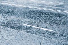 多雨天气 免版税图库摄影