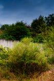 多雨牧人风景白天 免版税库存照片