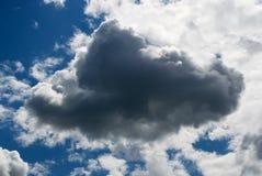多雨的云彩 库存图片