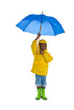 多雨的日 免版税库存照片