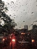 多雨 免版税库存图片