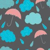 多雨 向量例证