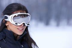 多雪户外的秀丽 免版税库存照片