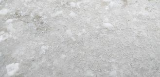 多雪的冰 免版税图库摄影
