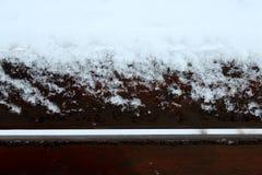 多雪的天 图库摄影