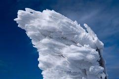 多雪的标志 库存图片