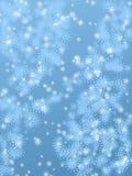 多雪的背景 免版税库存图片