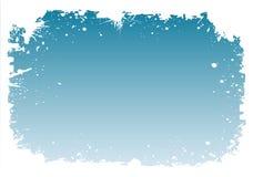 多雪的边界 免版税图库摄影