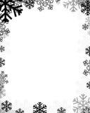 多雪的grunge 免版税库存图片
