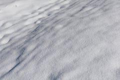 多雪美好的横向 库存图片