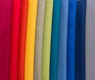 多颜色样品织品  图库摄影