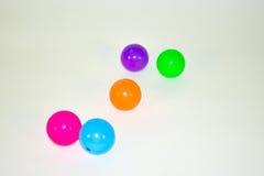 更多颜色球 库存图片