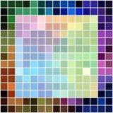 多颜色瓦片正方形马赛克- tepmplate 库存图片