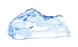 多维数据集冰查出的白色 库存照片