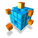 多维数据集 免版税库存照片