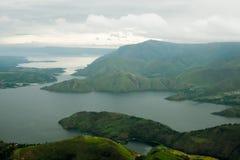 多巴湖风景  免版税库存照片