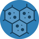 多细胞性的胞状结构象 免版税库存照片