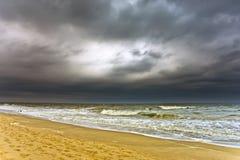 多暴风雨的天气 免版税图库摄影