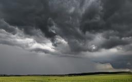 多暴风雨的天气 库存照片