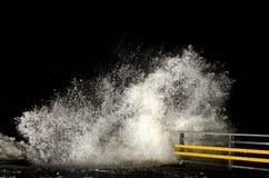 多暴风雨的天气 免版税库存照片