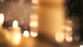 夜仪式的新娘 股票录像