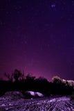 夜在拉里奥哈 免版税库存图片