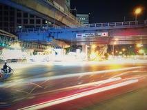 1夜在曼谷 库存照片
