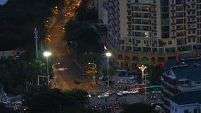 夜城市天线 股票录像