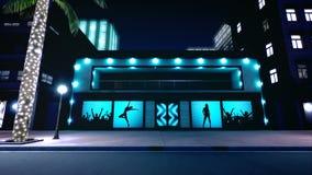 夜城市美好的场面  Loopable 股票视频