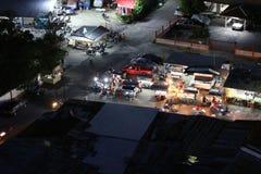 夜市场外面曼谷,泰国 免版税图库摄影