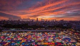 夜市场泰国 图库摄影