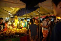 夜市场,清迈 库存图片