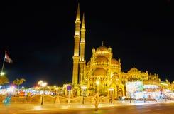 夜市Sharm El谢赫,埃及 免版税库存图片