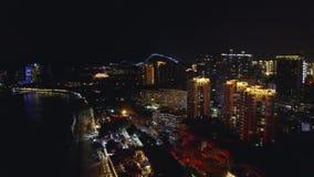 夜度假胜地 股票视频