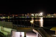 夜散步 图库摄影