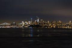 夜旧金山 免版税库存照片