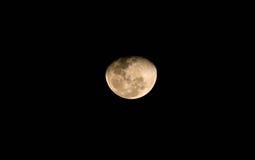 夜月亮68%现在 免版税库存照片
