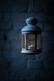 夜灯笼 免版税库存照片