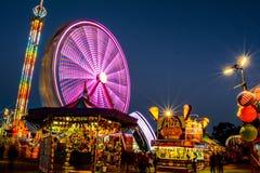 夜狂欢节 库存照片