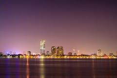 夜生活在河内 免版税库存图片
