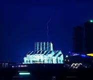 夜盛大剧院的重庆 免版税图库摄影